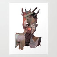 basquiat Art Prints featuring Basquiat by Stas Kravets (tomorrowfriday)