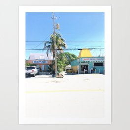 Nomad Beach Art Print
