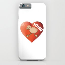 You Hold The Kiwi To My Heart, Cute Couples Tee, Romantic Gift, Kiwi Bird, New Zealand, Bird Lover iPhone Case