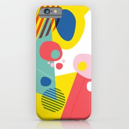 Abstract Pop III iPhone Case