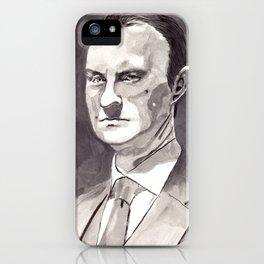 Mark Gatiss as Mycroft Holmes iPhone Case