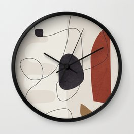 Abstract Minimal Shapes 27 Wall Clock