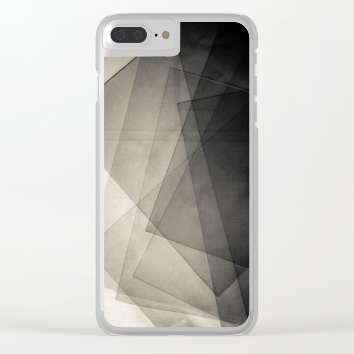 Abstract 221 Clear iPhone Case