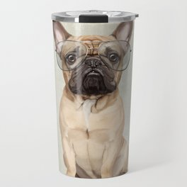 Mr French Bulldog Travel Mug