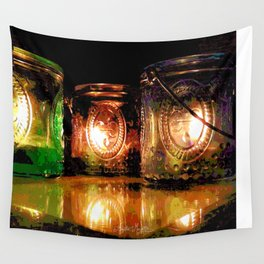 Out of the Darkness Wall Tapestry