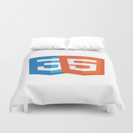 Html5 and CSS3 Duvet Cover
