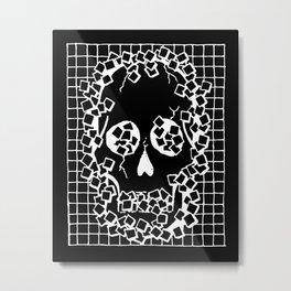BREAKTHROUGH DARK Metal Print