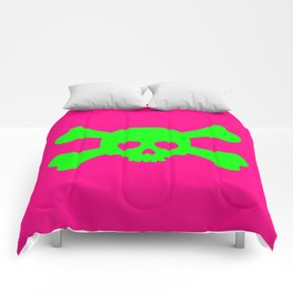 Toxic Skull Comforters
