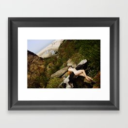 Because I Could Not Fly Framed Art Print