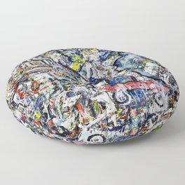 Skate or Paint Floor Pillow