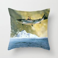 Search for delicious ...(2012) Throw Pillow