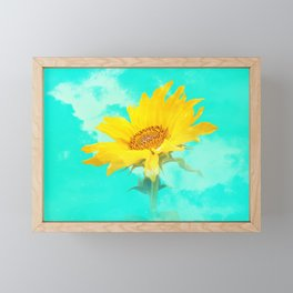 It's the sunflower Framed Mini Art Print