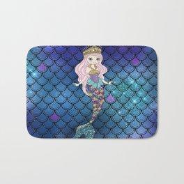 Princess of Sea   Glitter Mermaid Bath Mat