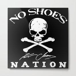 kenny no shoes nation chesney 2020 tour pasti Metal Print