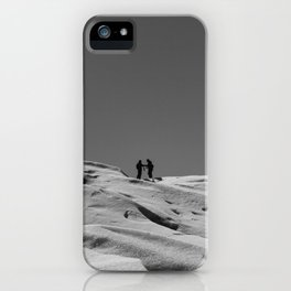 We'll Meet In The Middle iPhone Case