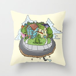Beverley Above The Clouds Throw Pillow