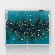 Blue Rift Galaxy (8bit) Laptop & iPad Skin