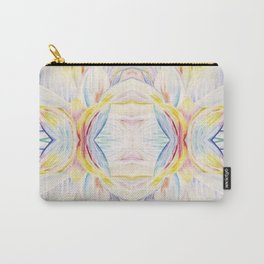 Opal Lotus Carry-All Pouch