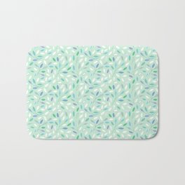 Dots and Leaves Bath Mat