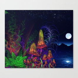 Happy Birthday Terence Mckenna Canvas Print