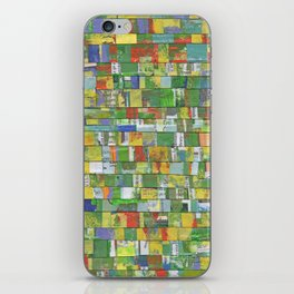 Colorburst Collage iPhone Skin