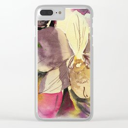 20120423 Orchid Clear iPhone Case