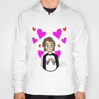 louis tomlinson Hoodies featuring Lovely Louis Tomlinson  by drawbyana