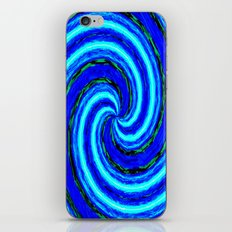Abstract Blue Modern. iPhone & iPod Skin