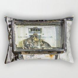 Derelict Pump Rectangular Pillow