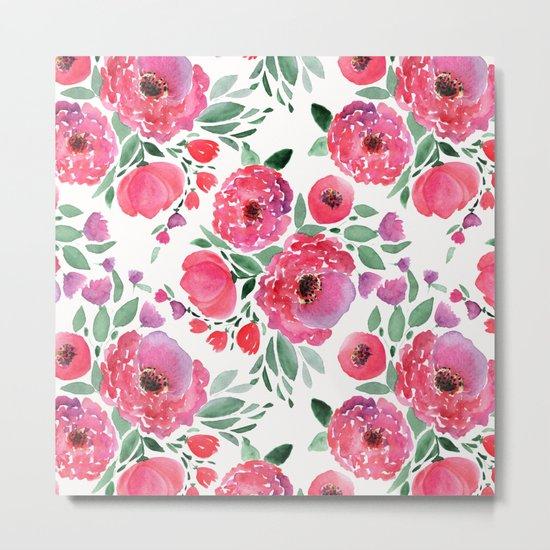 flower pattern 6 Metal Print