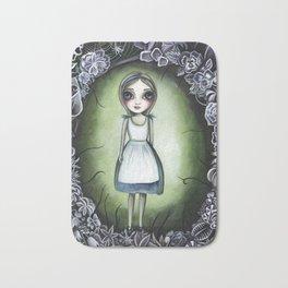 Alice in the Deadly Garden Bath Mat