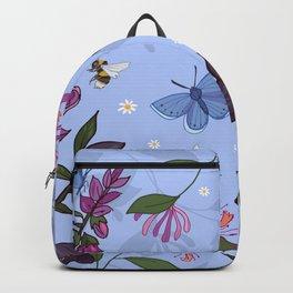Hellebores, Honeysuckle and Foxglove Backpack