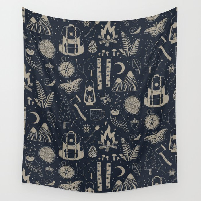 Into the Woods: Stargazing Wall Tapestry
