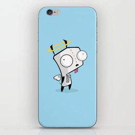 Angel Gir iPhone Skin