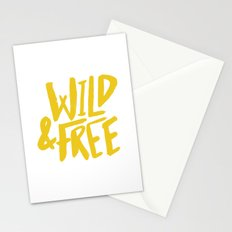Wild and Free - Sunshine Stationery Cards