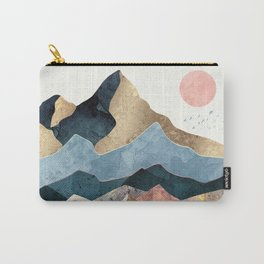 Golden Peaks Carry-All Pouch