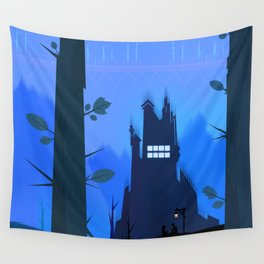 The Missing Time Wall Tapestry