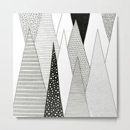 Stalagmites and Stalactites Metal Print