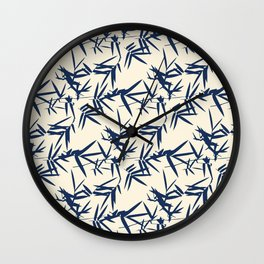 Flora Traditional Japanese Inspired Wall Clock