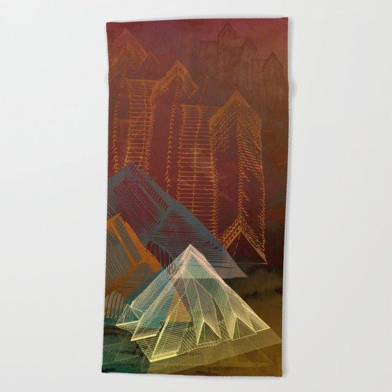 Piramidal 16.5.16 Beach Towel