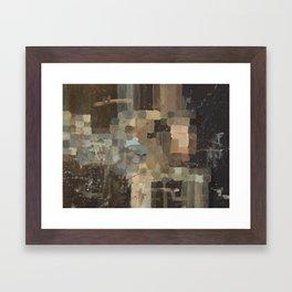 The Fear of Falling Apart Framed Art Print