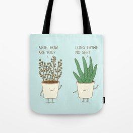 garden etiquette Tote Bag