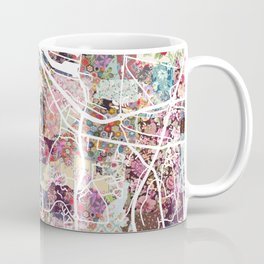 Honfleur map Coffee Mug