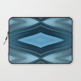 stripes wave pattern 6v2 coi Laptop Sleeve