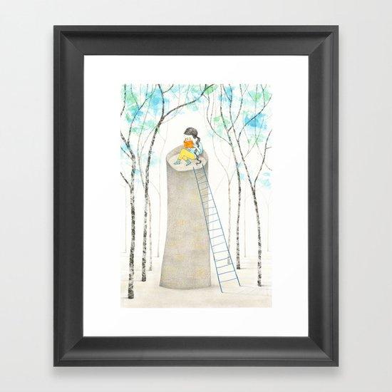 A different Rapunzel Framed Art Print