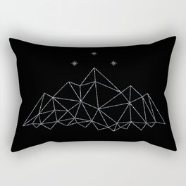 The Night Court insignia from A Court of Frost and Starlight Rectangular Pillow