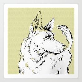 Howl Along Art Print