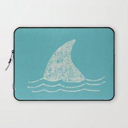 Beach Series Aqua - Shark Animal in the deep See Laptop Sleeve