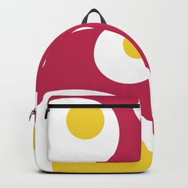 Fried Eggs Rebellion Backpack