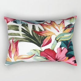 A piece of the tropic in watercolor Rectangular Pillow
